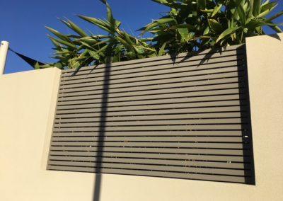 Aluminium Slat Screens Mandurah